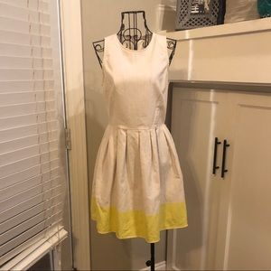 Adorable Linen Summer Dress